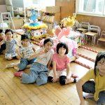 白菊保育園の夏祭りに参加